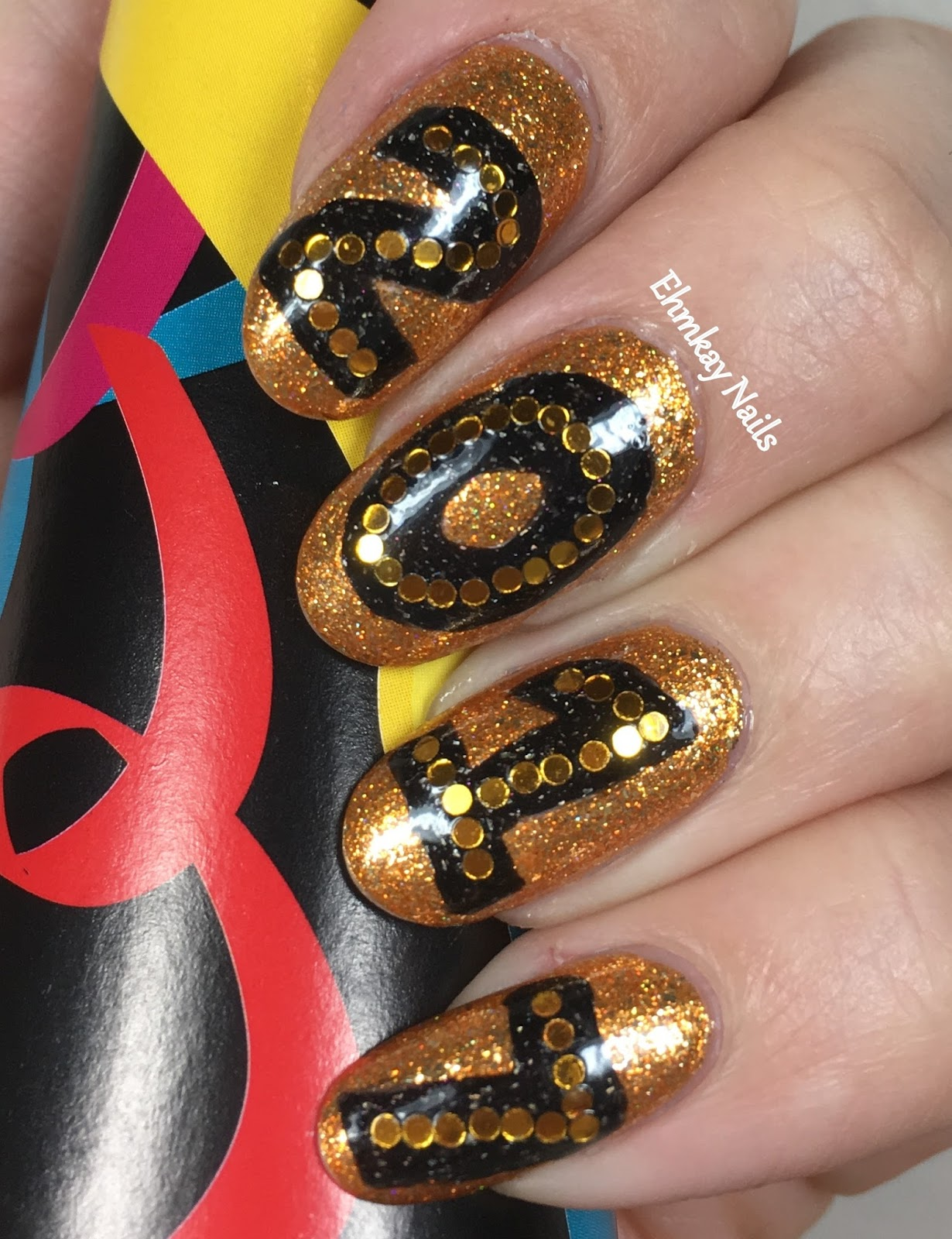 Ehmkay nails welcome to 2017 nail art welcome to 2017 nail art prinsesfo Images