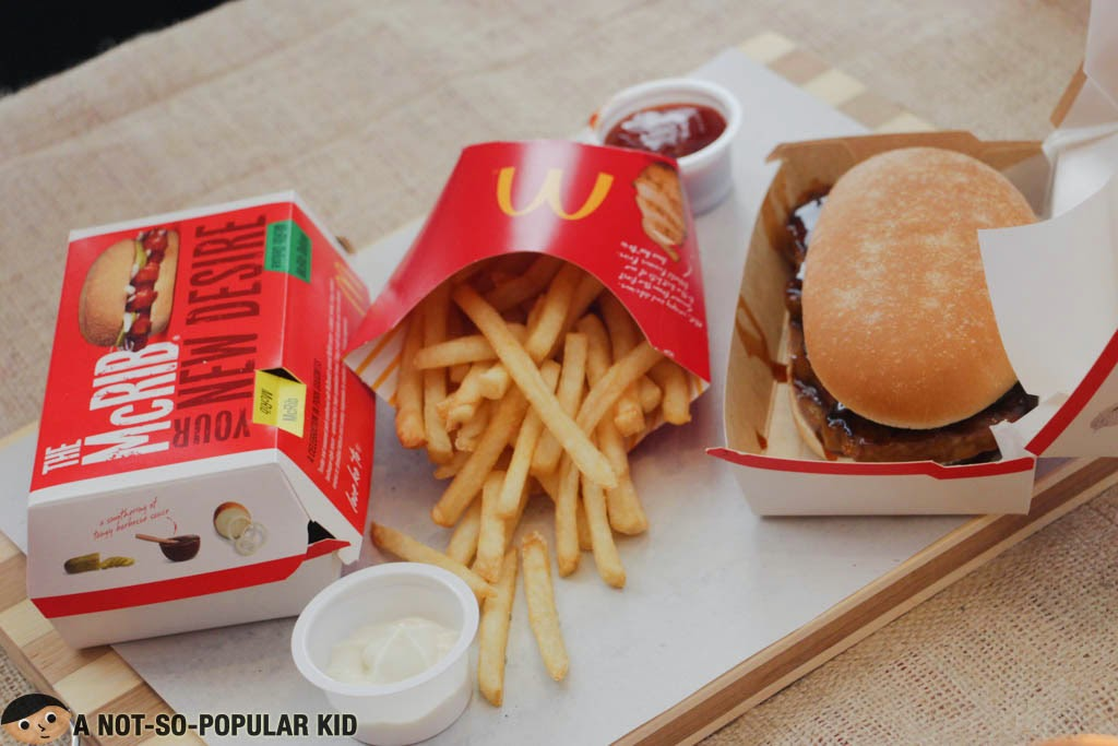 The New McRib of McDonald's Philippines