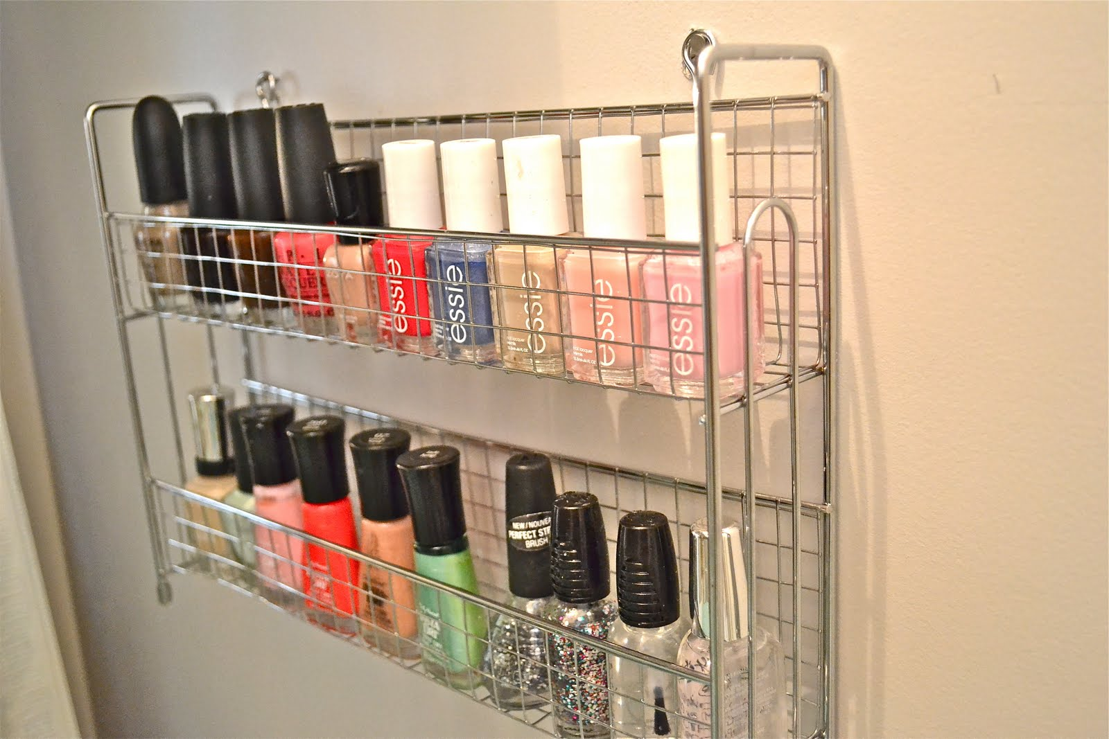 spice rack for nail polish - Design Decoration