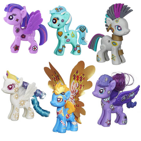 All My Little Pony Hasbro POP Ponies