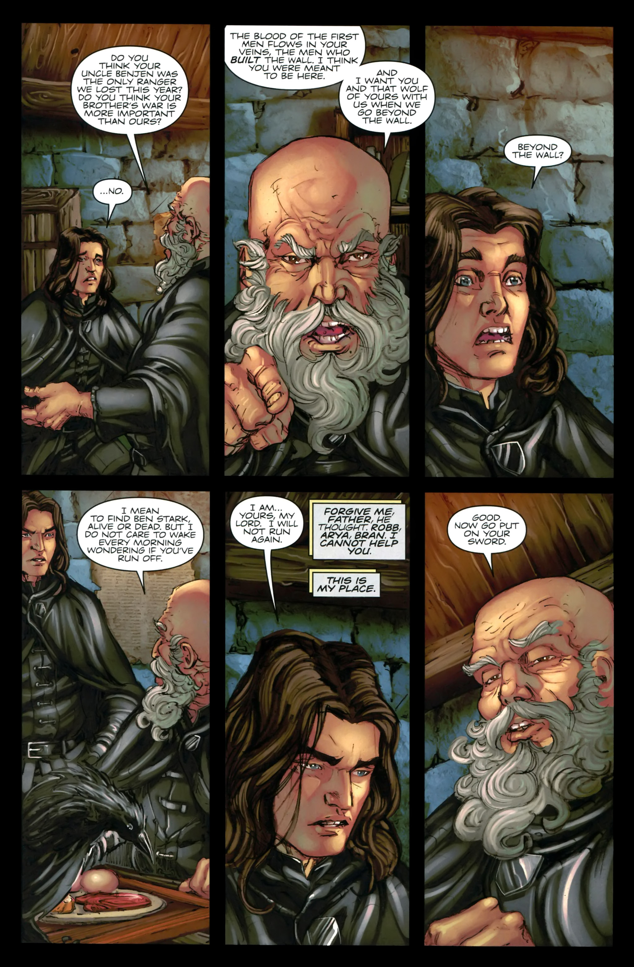Read online A Game Of Thrones comic -  Issue #24 - 12