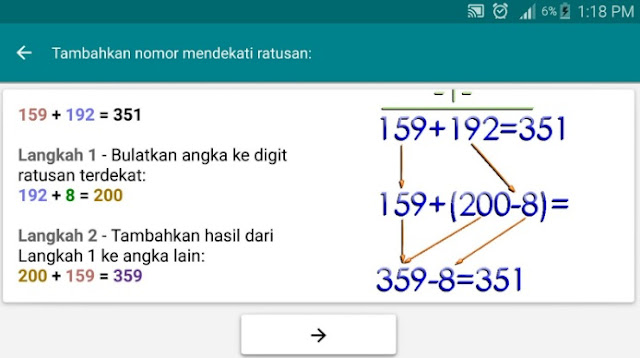 Aplikasi Trik Matematika