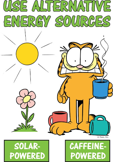 Eco-friendly Garfield!