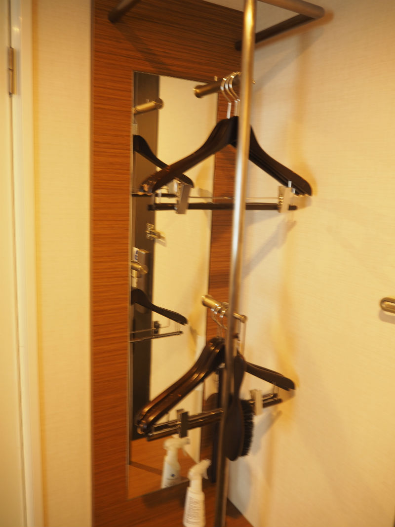 Hotel Mystays Kamata Hanger and Safe Box