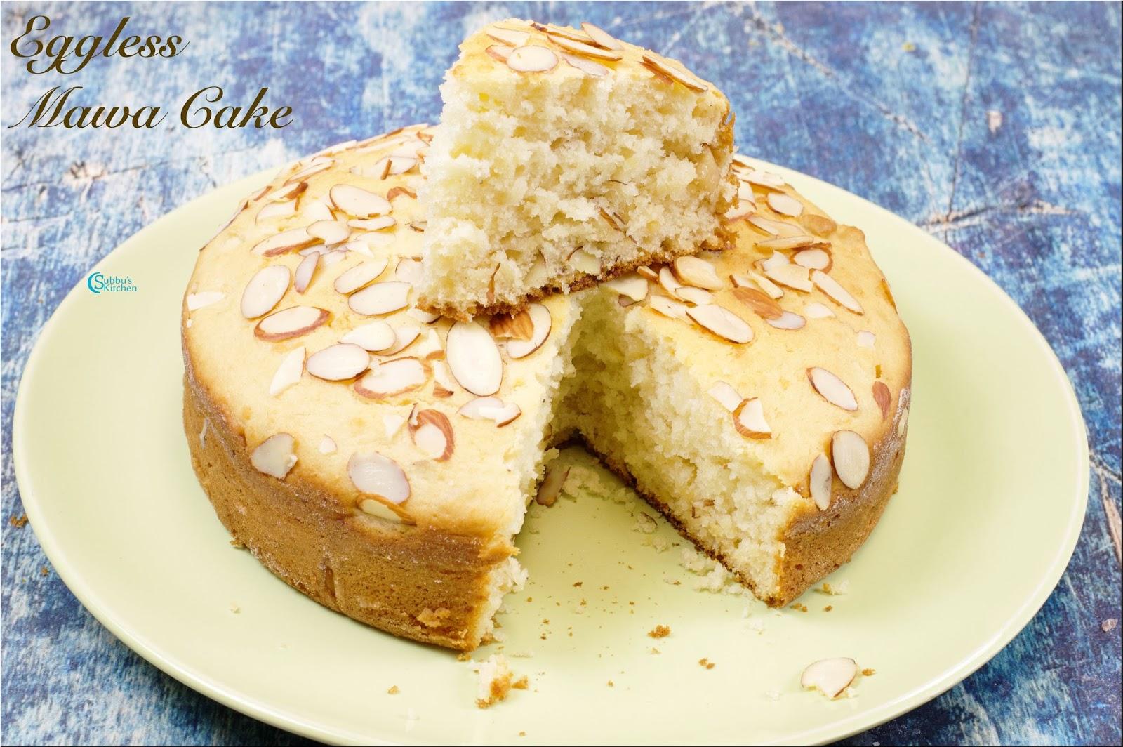 Mawa Cake Recipe In Cooker