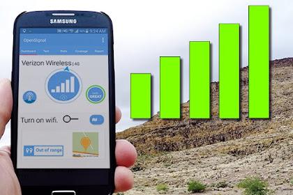 Cara Praktis Membuat Alat Penguat Sinyal HP Android
