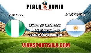 Prediksi Bola Nigeria vs Argentina 27 Juni 2018
