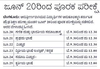 Karnataka SSLC Supplementary Time Table 2016, KSEEB SSLC/10th Supplementary Exam Dates 2016,SSLC 2016 Supplementary Dates,