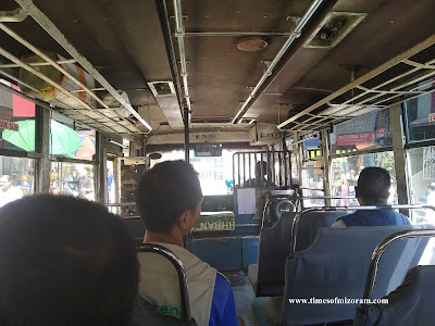 Buses in Aizawl