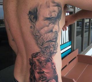 ลายสักเทพเจ้า Zeus