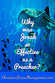 Why Jonah was such a perfect preacher despite is imperfections