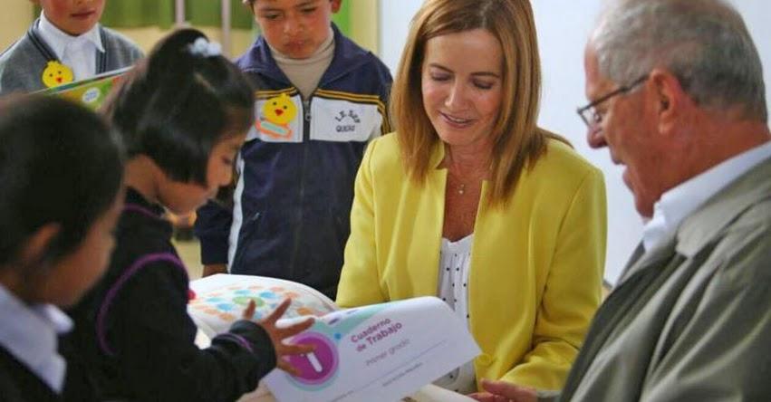 Pondremos todo nuestro esfuerzo para mejorar la calidad educativa en el Perú (Marilú Martens Cortés) MINEDU - www.minedu.gob.pe