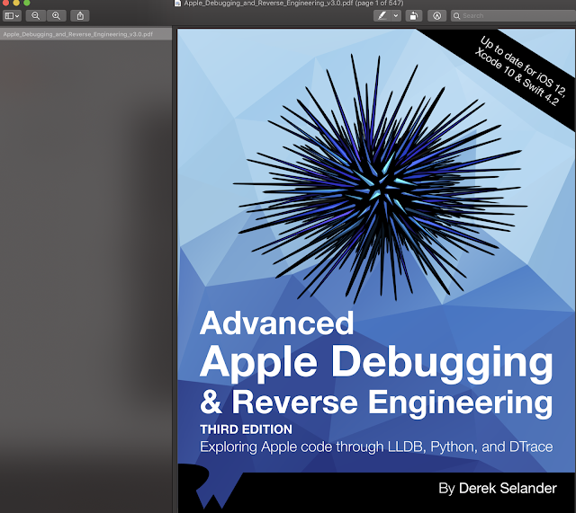 Advanced Apple Debugging & Reverse Engineering PDF, EPUB Update Swift 4.2 and IOS 12
