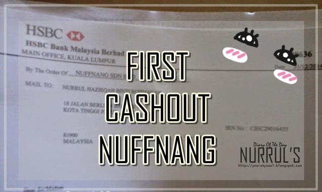 First Cashout Nuffnang