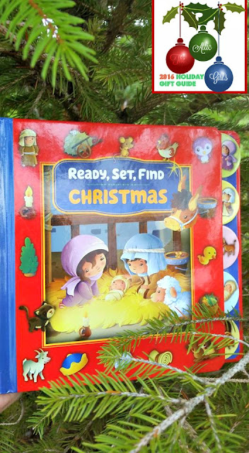 seek and find books, christmas books, holiday gifts, zonderkidz, stocking stuffers