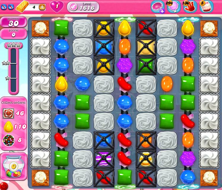 Candy Crush Saga 1616