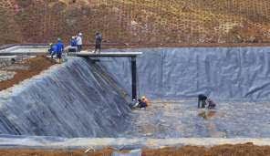 Jual Geomembrane 100% HDPE