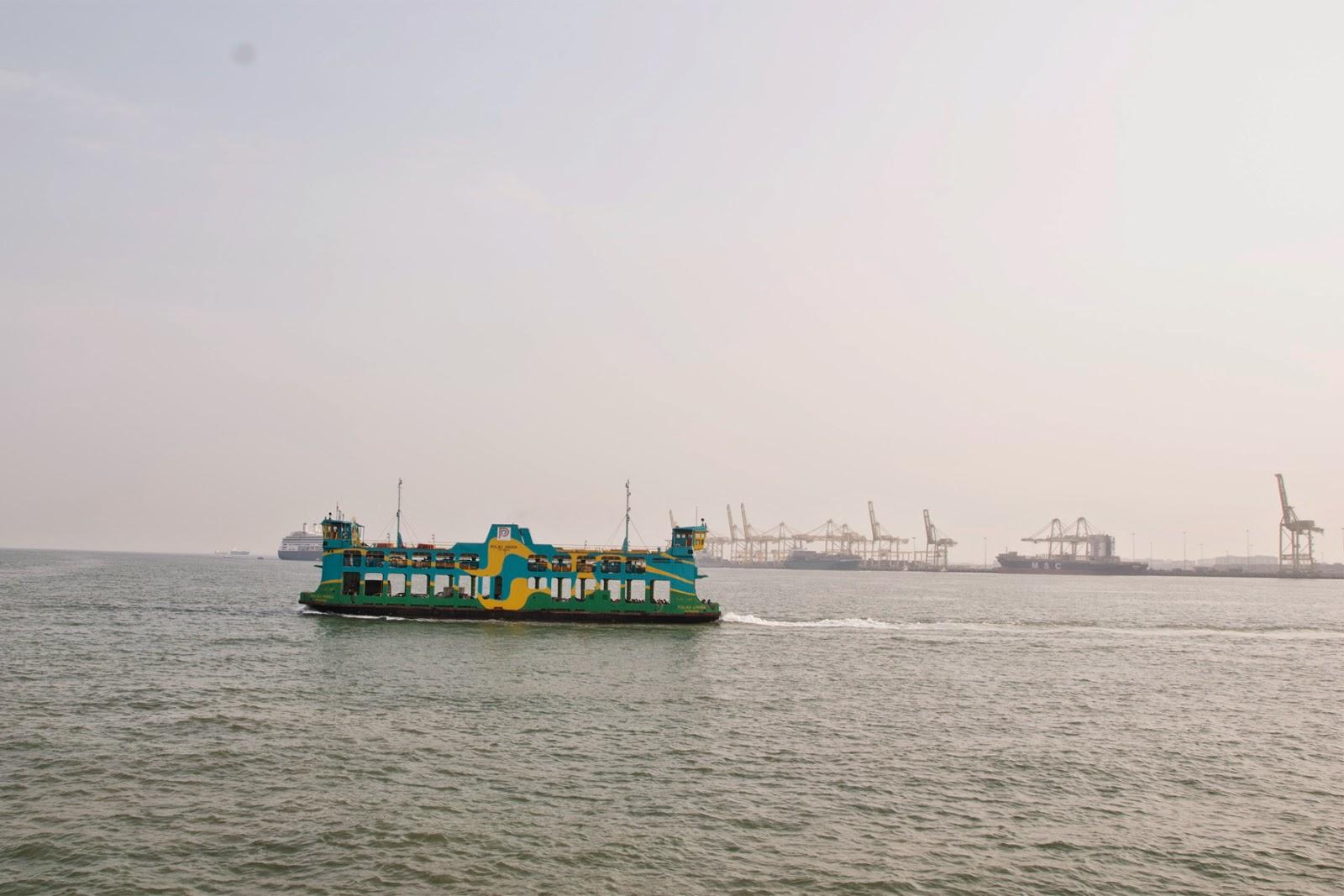 Feri, Pulau Pinang, Laut, Permandangan, Gambar Cantik, arzmoha