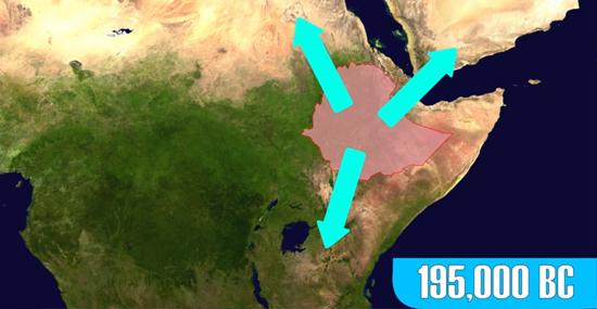 Colonização primeiro local Etiópia