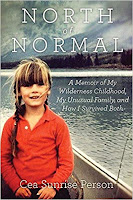 unusual childhood, success despite strange childhood, making a normal life after wilderness childhood