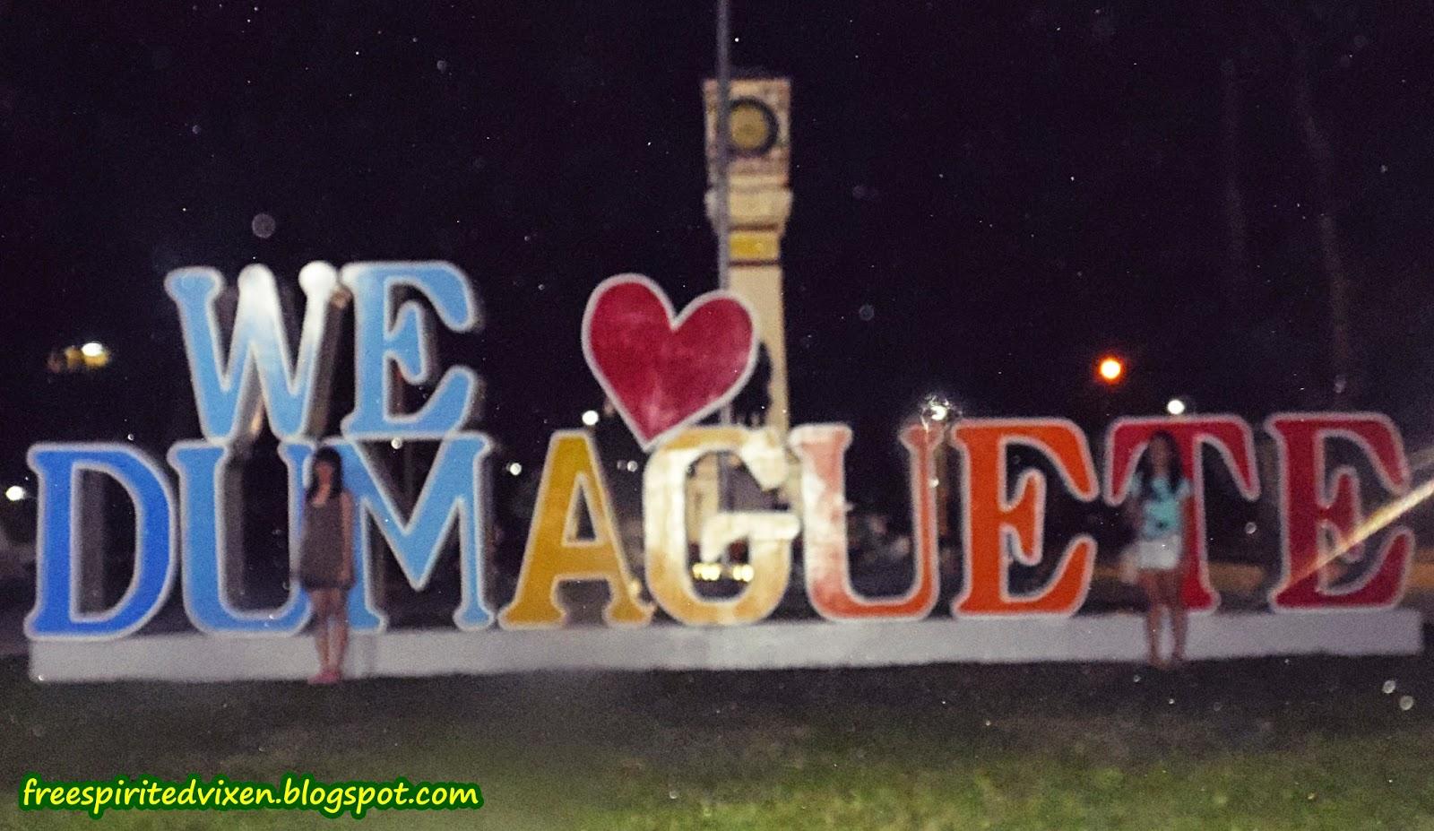 We Love Dumaguete, Quezon Park, Dumaguete
