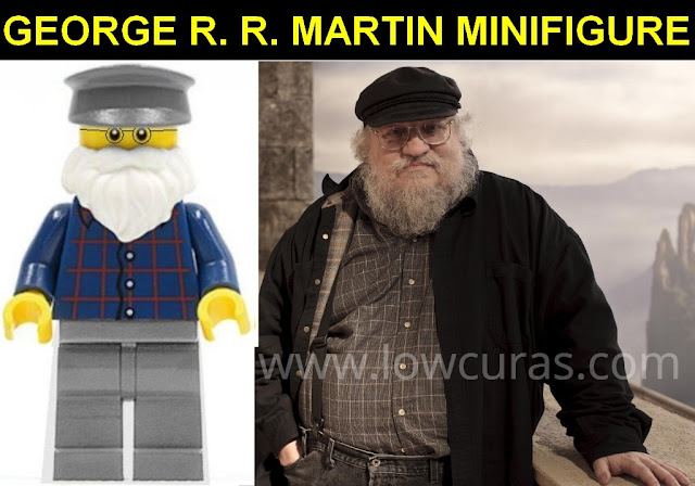 George R. R. Martin e la sua minifigure LEGO