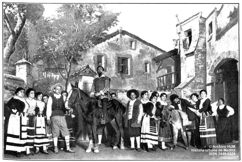 Historia urbana de madrid madrid cien a os atr s don - Hotel el quijote madrid ...