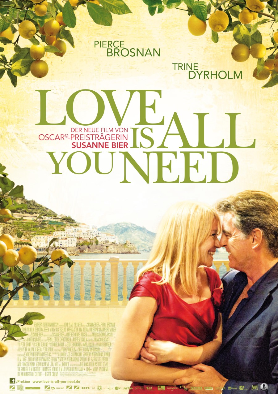 Love Is All You Need - 2012 'Official Poster'