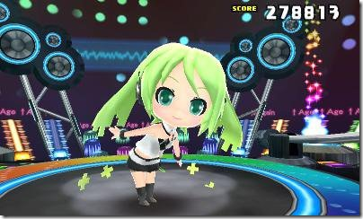 Hatsune Miku: Project Mirai DX 3DS screenshot 3