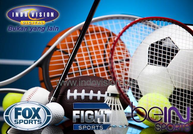 Saluran olahraga apa saja yang tayang di Indovision?