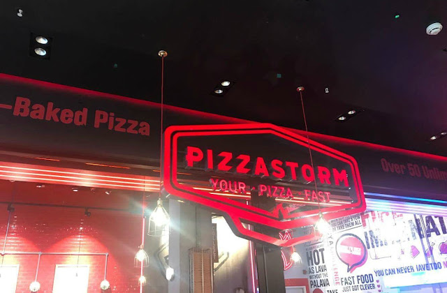 Pizzastorm store in Newcastle Eldon Square