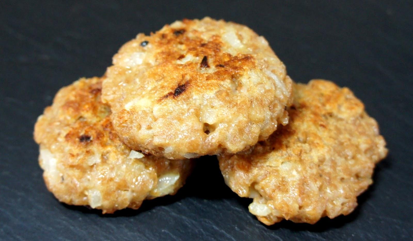 Kochglueck dinkelbratlinge for 4p kochen lassen