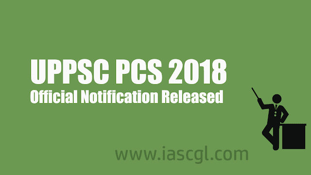UPPSC PCS 2018