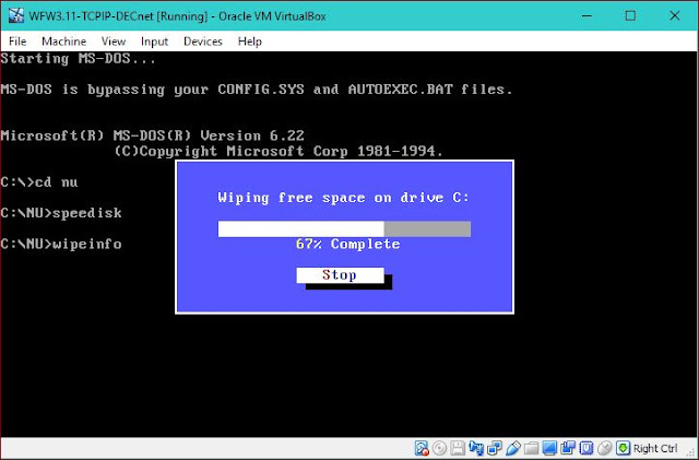 Supratim Sanyal's Blog: SPEEDISK for MS DOS FAT File System Windows 3.1 Windows 3.11 WFW ZEROFREE SDELETE free disk space for compacting virtual hard disk drive