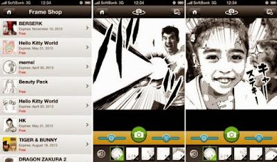 Aplikasi Edit Foto Otaku Camera