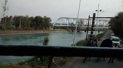 Sirhind Canal at Rupnagar