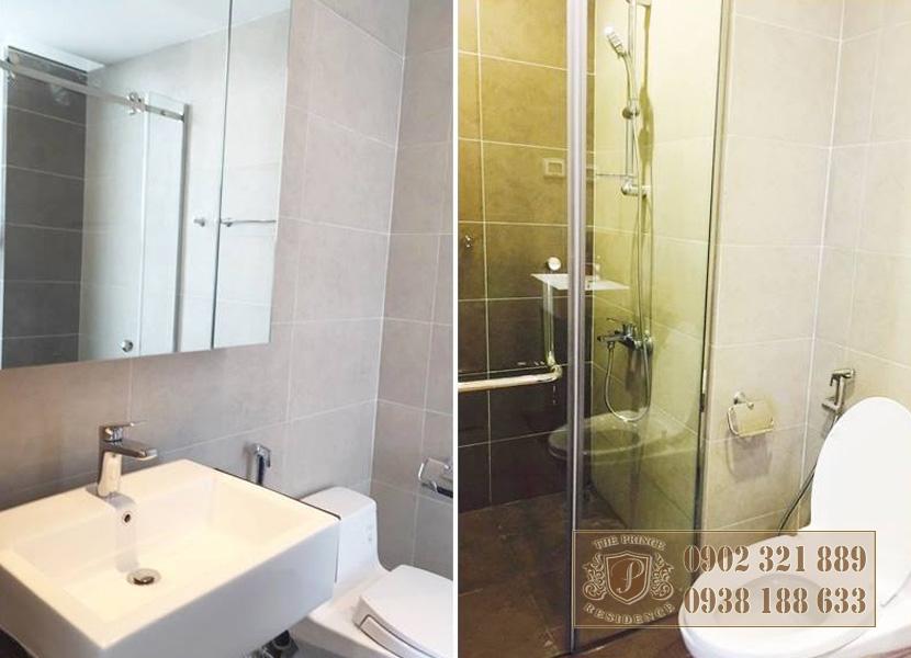 Bán căn hộ The Prince Novaland 3 phòng ngủ - phòng vệ sinh