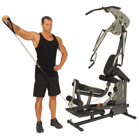 Gold s gym xrs weight bench with squat rack transitional