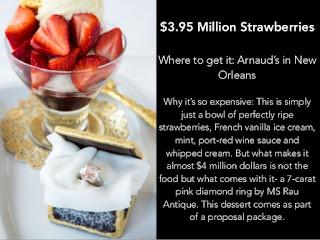 Cake Termahal dan Terlezat di Dunia - Strawberries Arnaud