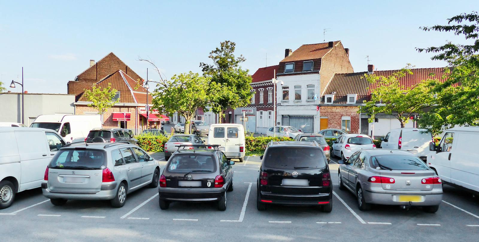 Parking Tourcoing - Place Albert Thomas, Tourcoing