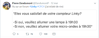 blague sur le linky