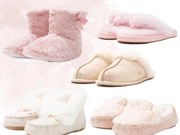 5 Paar Winterse Pantoffels