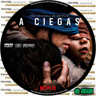 GALLETA A CIEGAS - BIRD BOX: A CIEGAS 2018 [COVER DVD]