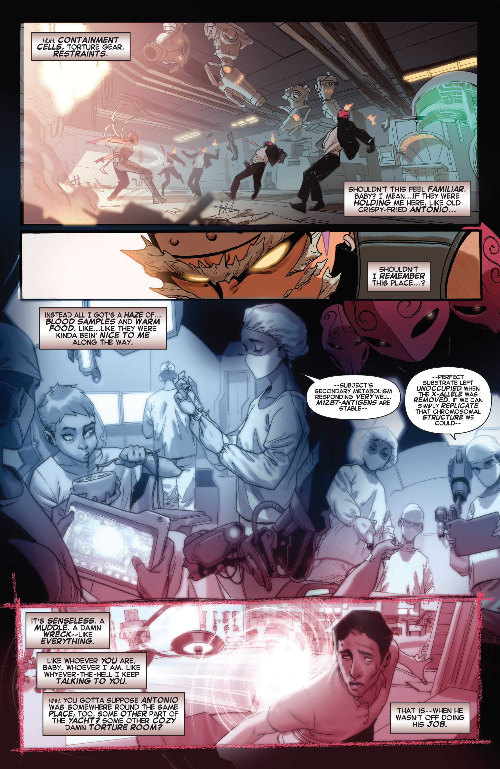 Read online X-Force (2014) comic -  Issue #5 - 8