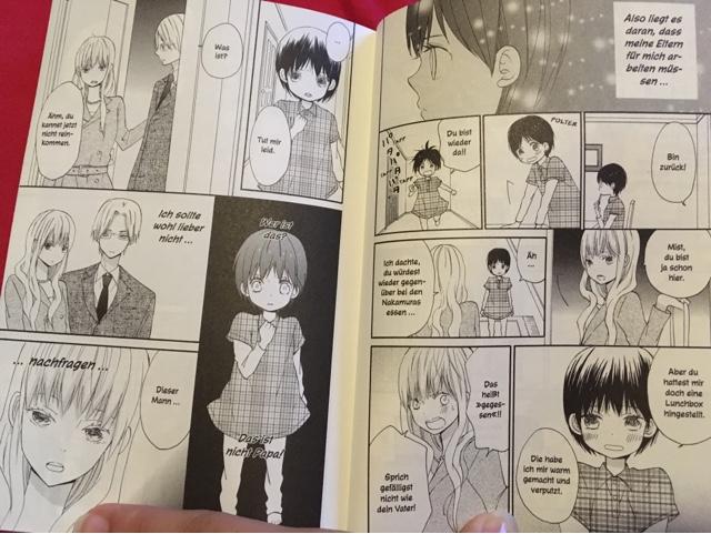 Review zum Manga zu Haus der Sonne