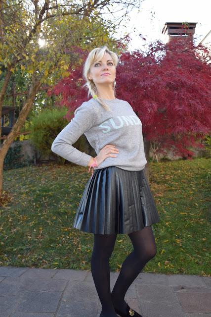 maglione grigio outfit grigio come abbinare il grigio mariafelicia magno fashion blogger colorblock by felym fashion blogger italiane blog di moda outfit invernali