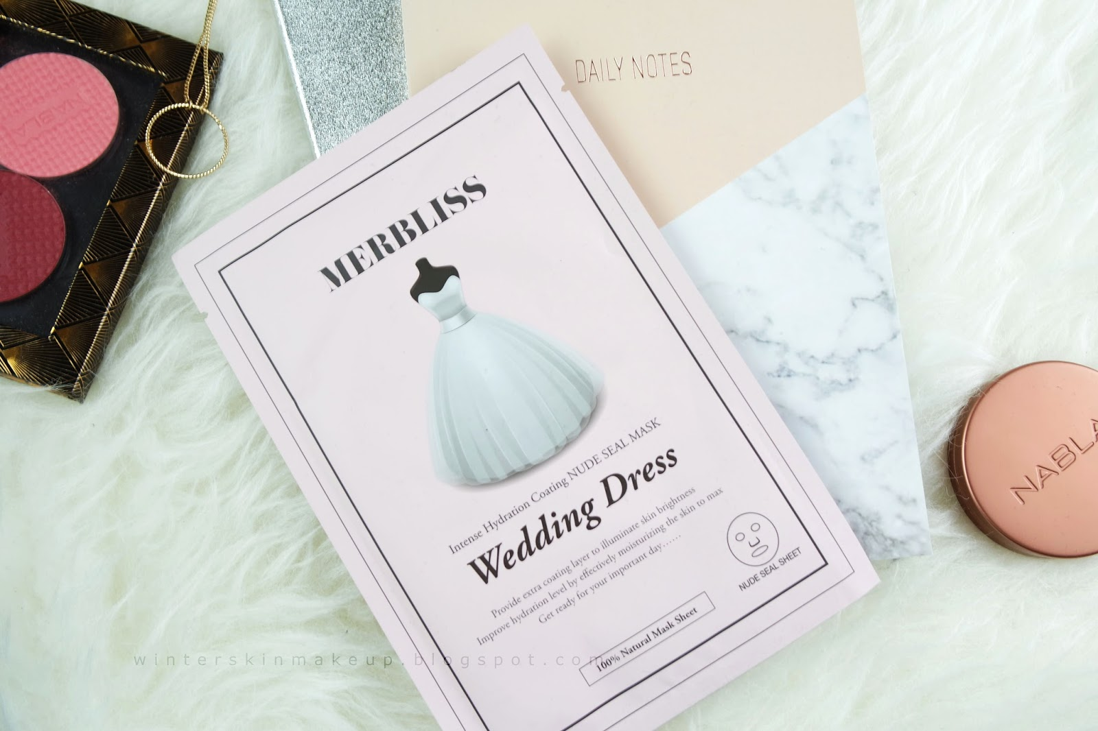 멀블리스 Wedding Dress Intense Hydration Coating Nude Seal mask