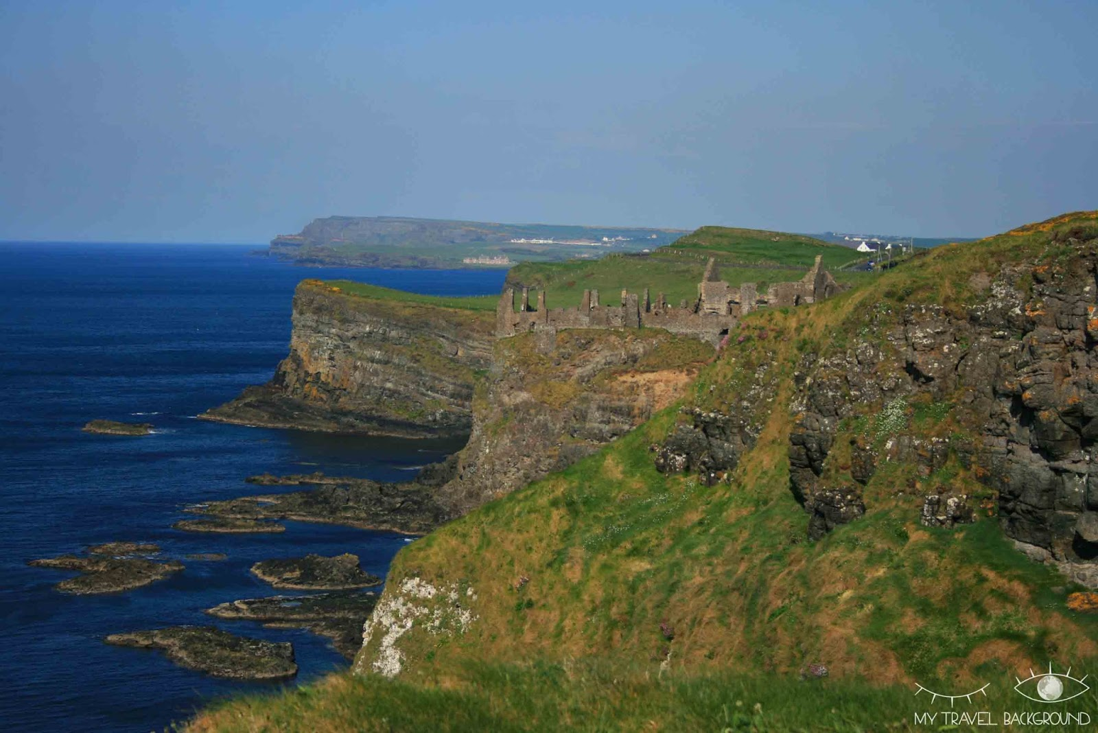 My Travel Background : Along the wild atlantic Way, Irlande du Nord - Dunluce Castle