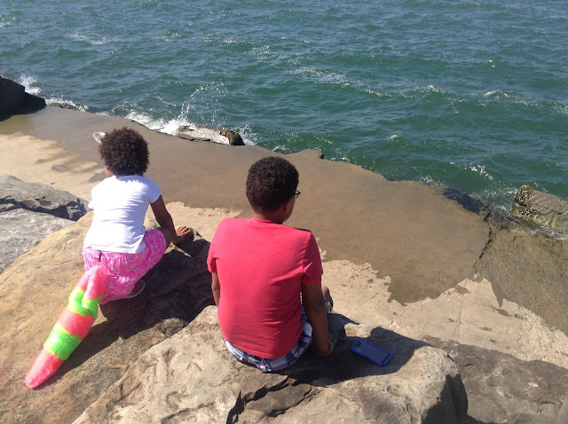 Rocks at Edgewater Park