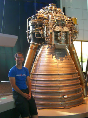 Vulcain engine of Ariane V rocket